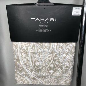Tahari Home window panels.